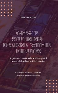 design graphics with smartphone
